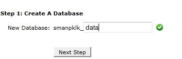 new database
